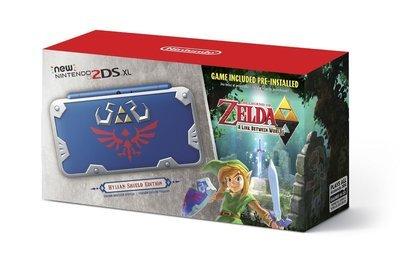 2DS XL Zelda Edición Escudo