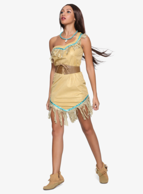 Cosplay Vestido Pocahontas