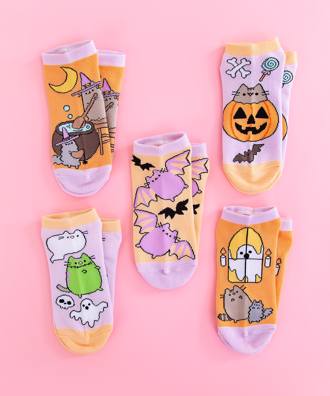 Calcetines Pusheen Halloween
