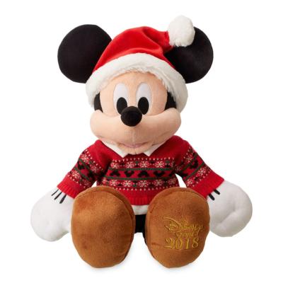 Peluche Mickey Navidad Feliz