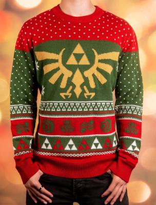 Sueter Navideño Zelda 2018