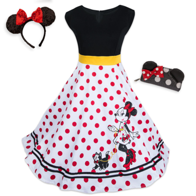 Vestido Minnie Mouse Halloween Set