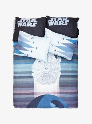 Set para Cama Star Wars Halcon Milenario