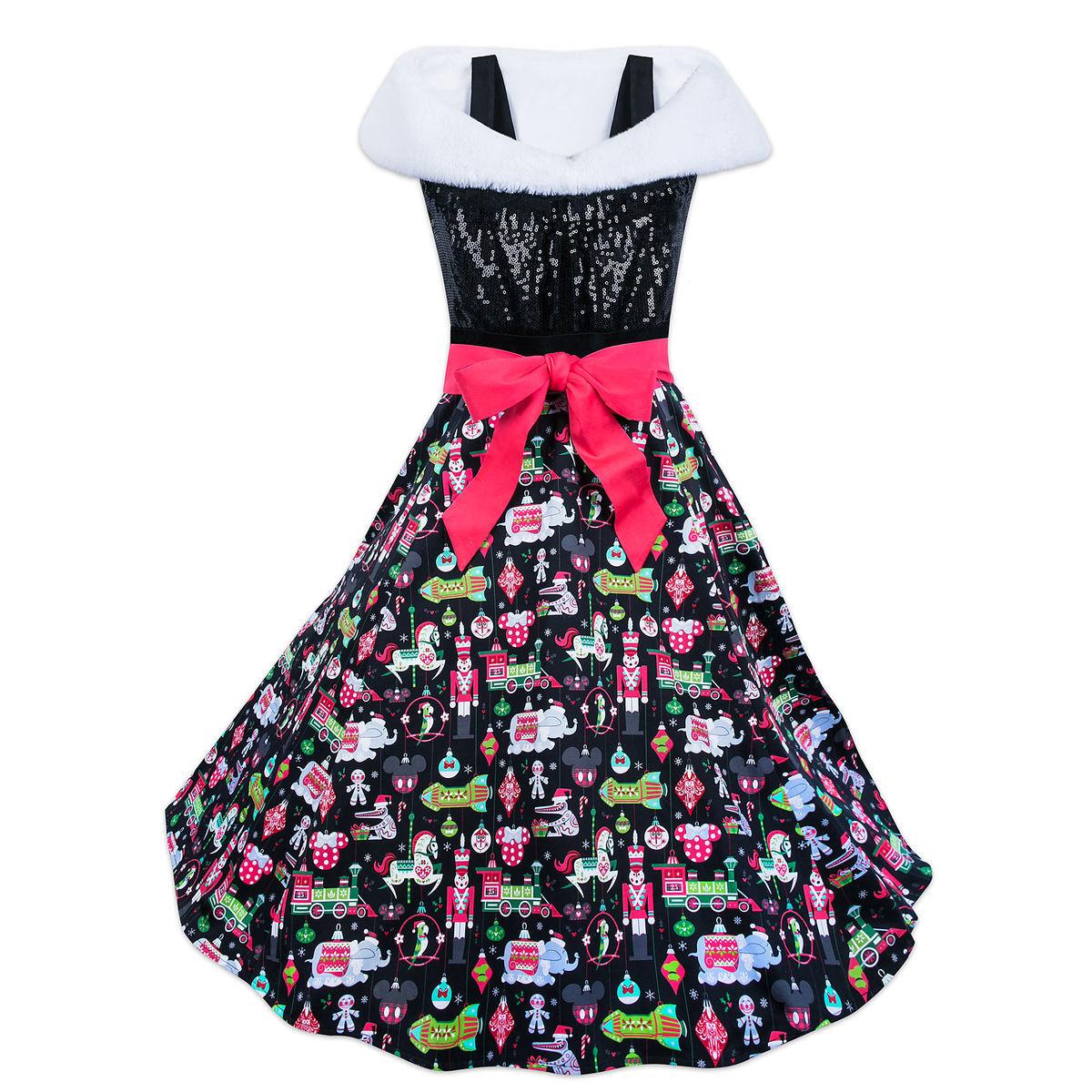 Vestido Minnie Mouse Navideño Limitado