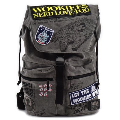 Mochila Wookie Parches