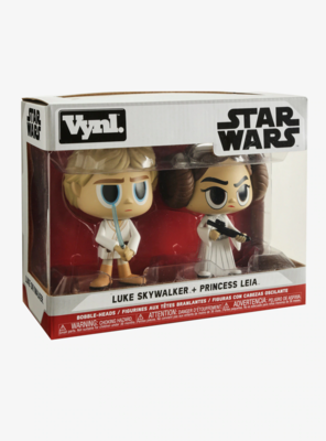 Figura POP SET LUKE LEIA