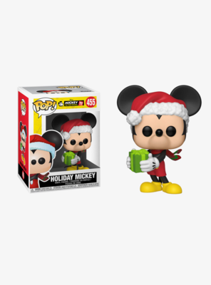 Figura POP Mickey Navideño