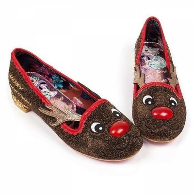 Zapatos Navideños Reno