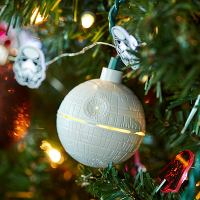 Luces Estrella de la Muerte Navidad