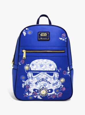 Bolsa Mochila Star Wars Stormtrooper Flores
