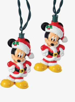 Luces Mickey Mouse Santa