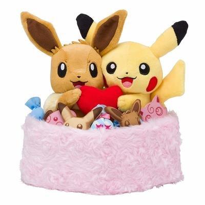 Peluche Pikachu Eevee Exclusivo
