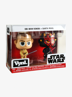 Set POP OBI-WAN KENOBI Y DARTH MAUL