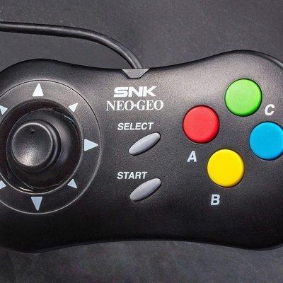 Pad Control Consola Mini NeoGeo