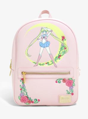 Bolsa Mochila Sailor Moon Rosa S00