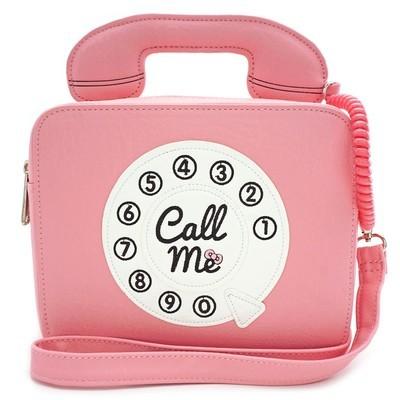 Bolsa Hello Kitty Telefono Rosa