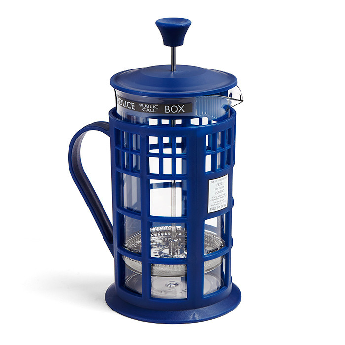 Prensa para Cafe Doctor Who TARDIS