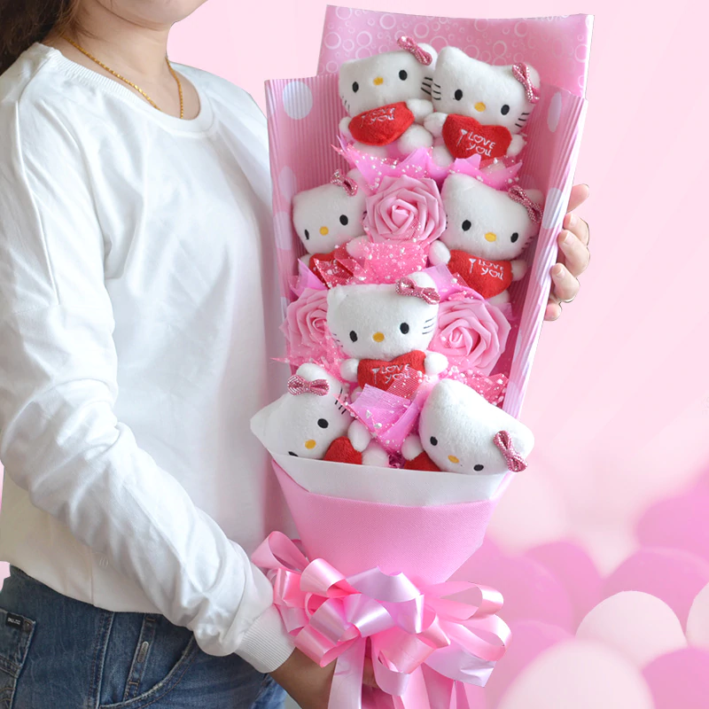 Ramo Hello Kitty Hermoso