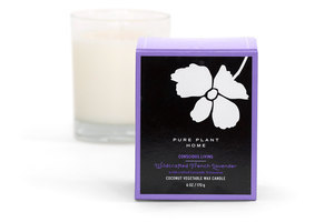 Front Wildcrafted French Lavender Coconut Wax
