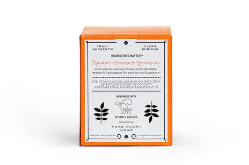 Back Mandarin Orange/Lemongrass Coconut Wax