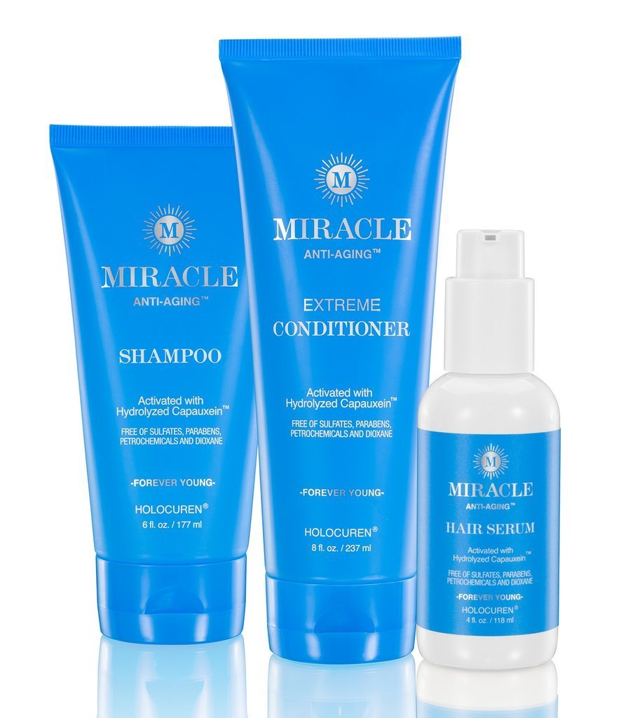 Miracle Anti-Aging Hair Products - Hydrating 3 Pack Trio