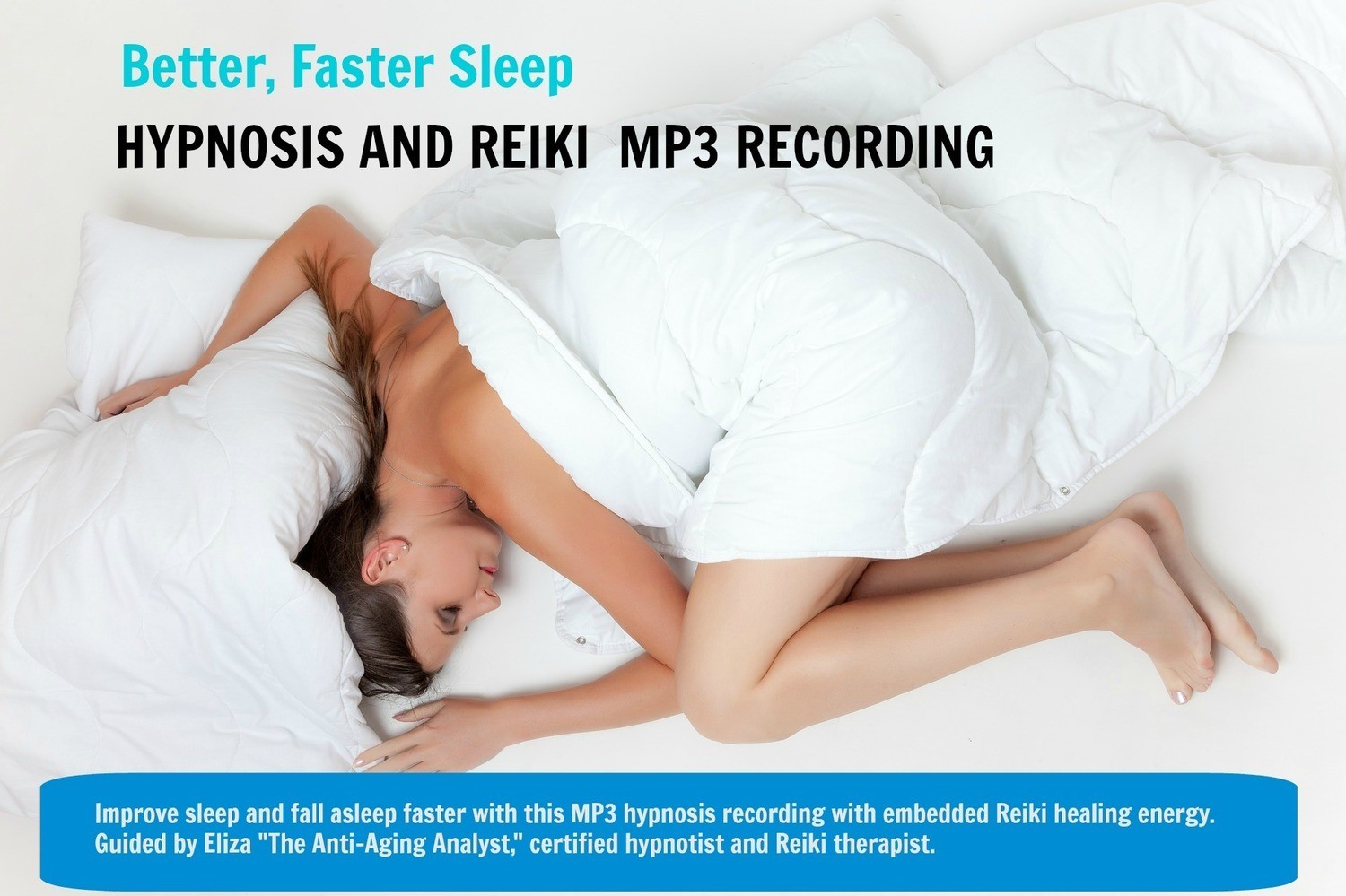 Hypnosis MP3 For Faster, Better Sleep (Digital Product)