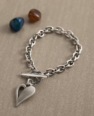 Danon Simply You Heart T-bar Bracelet