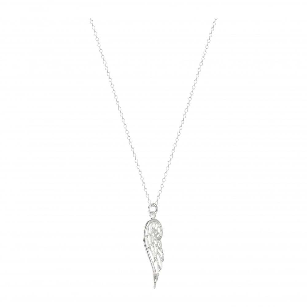 Virtue Exquisite Silver Angel Wing Necklace
