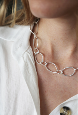 Tutti & Co Calm Necklace Silver