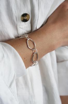 Tutti & Co Calm Bracelet Silver