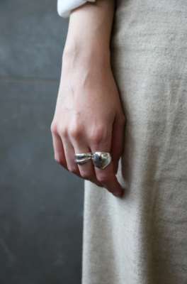 Tutti & Co Water Ring Silver