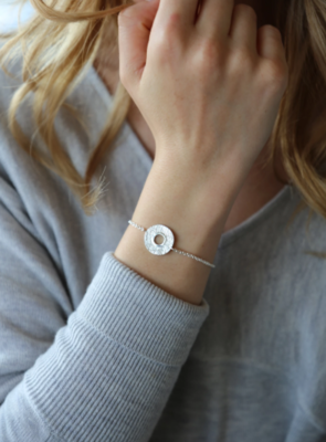 Tutti & Co Mineral Bracelet Silver