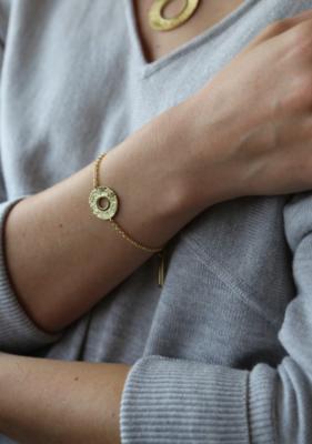 Tutti & Co Mineral Bracelet Gold