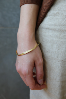 Tutti & Co Organic Bangle Gold