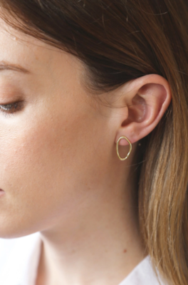 Tutti & Co Calm Earrings Gold