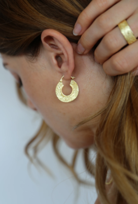 Tutti & Co Cinder Earrings Gold