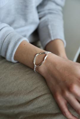 Tutti & Co Fossil Bracelet Silver