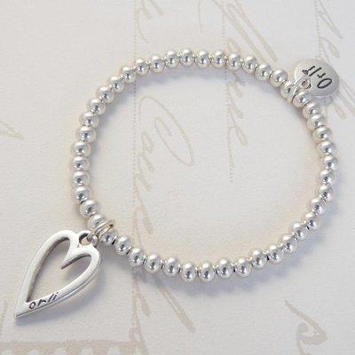 Orli Mini Heart Beads Bracelet