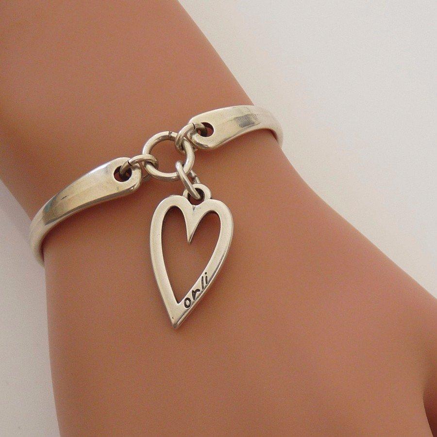 Orli Open Heart 'Brangle' Silver