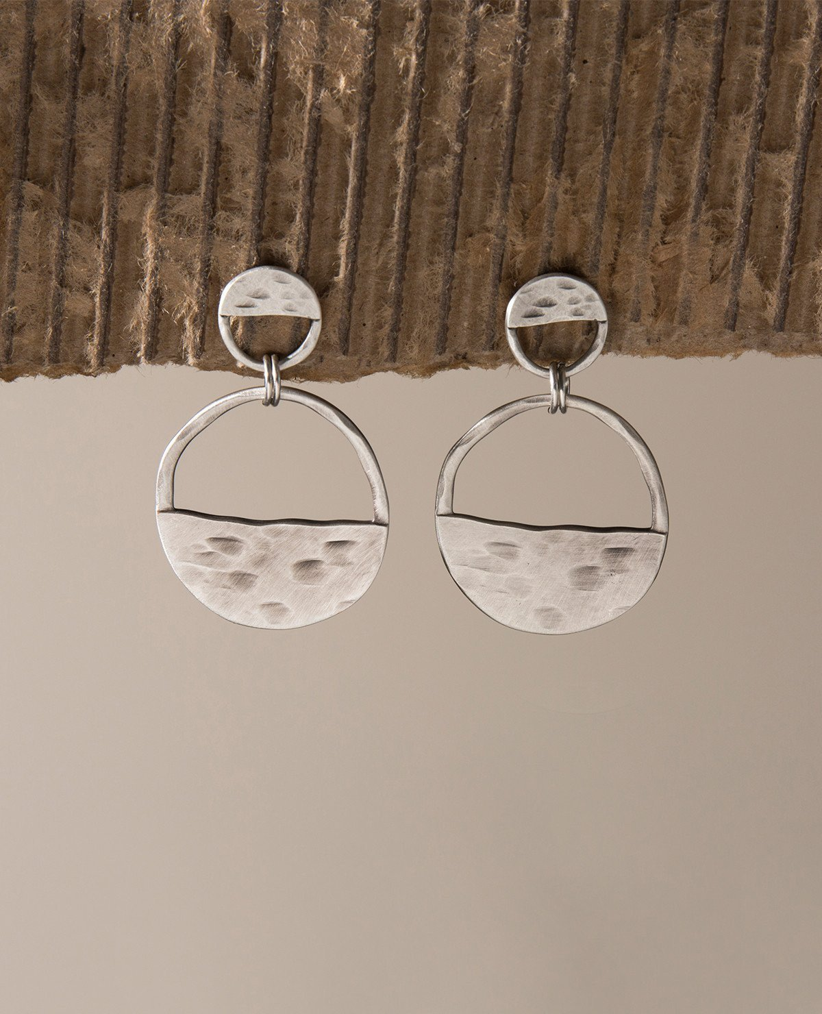 Danon Inner Circle Two Piece Earrings