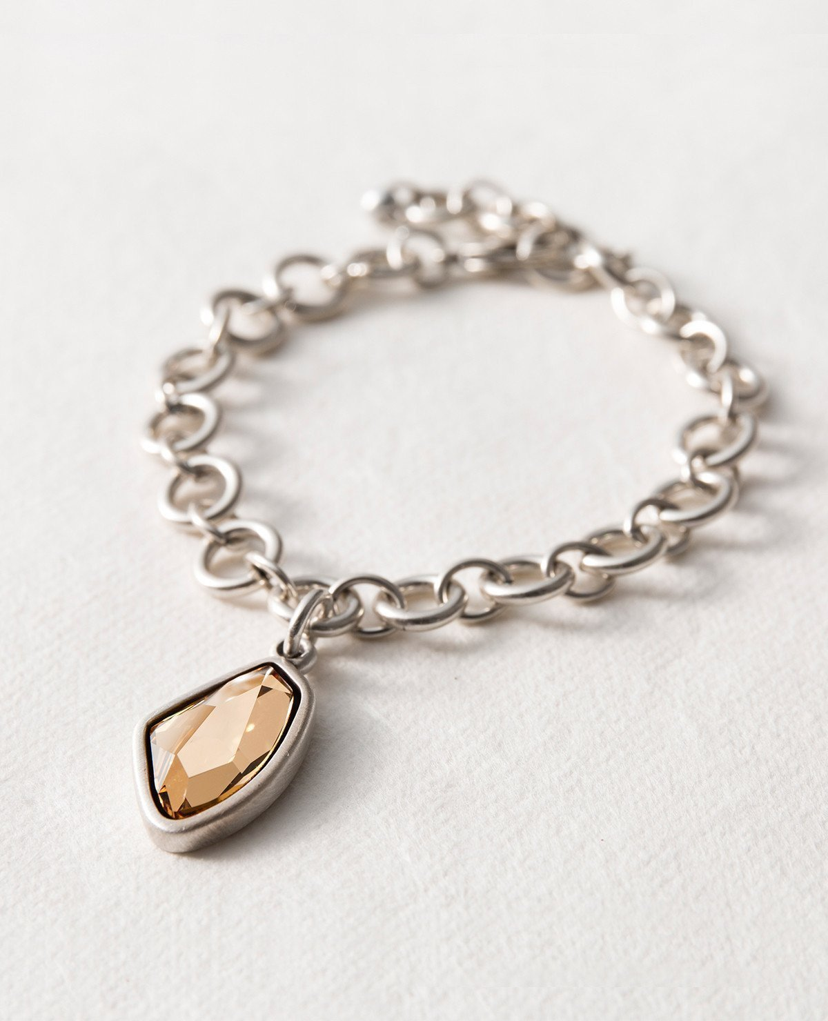 Danon Crystal Clear Link Bracelet