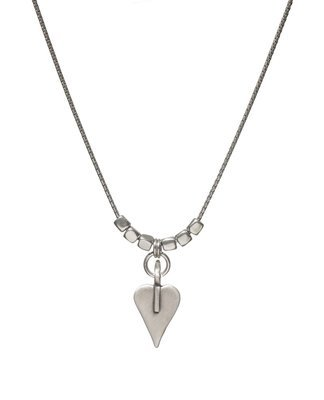 Danon Signature Heart and Cubes Fine Necklace