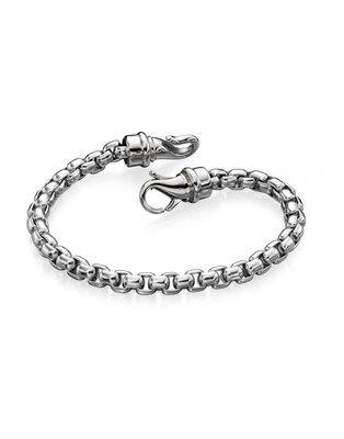Fred Bennett Stainless Steel Large Belcher Link Bracelet