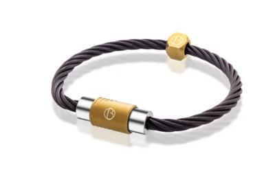 Bailey of Sheffield   CABLE™ Spark Bracelet