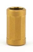 Bailey of Sheffield | Matte Gold Filter Bead