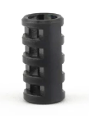 Bailey of Sheffield | Anthracite Jacob's Ladder Bead