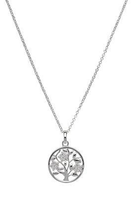 Unique & Co Silver Tree of Life Necklace