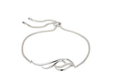 Unique & Co Silver and Zirconia Bracelet