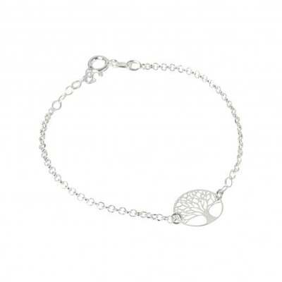 Virtue Exquisite Silver Tree of Life Bracelet