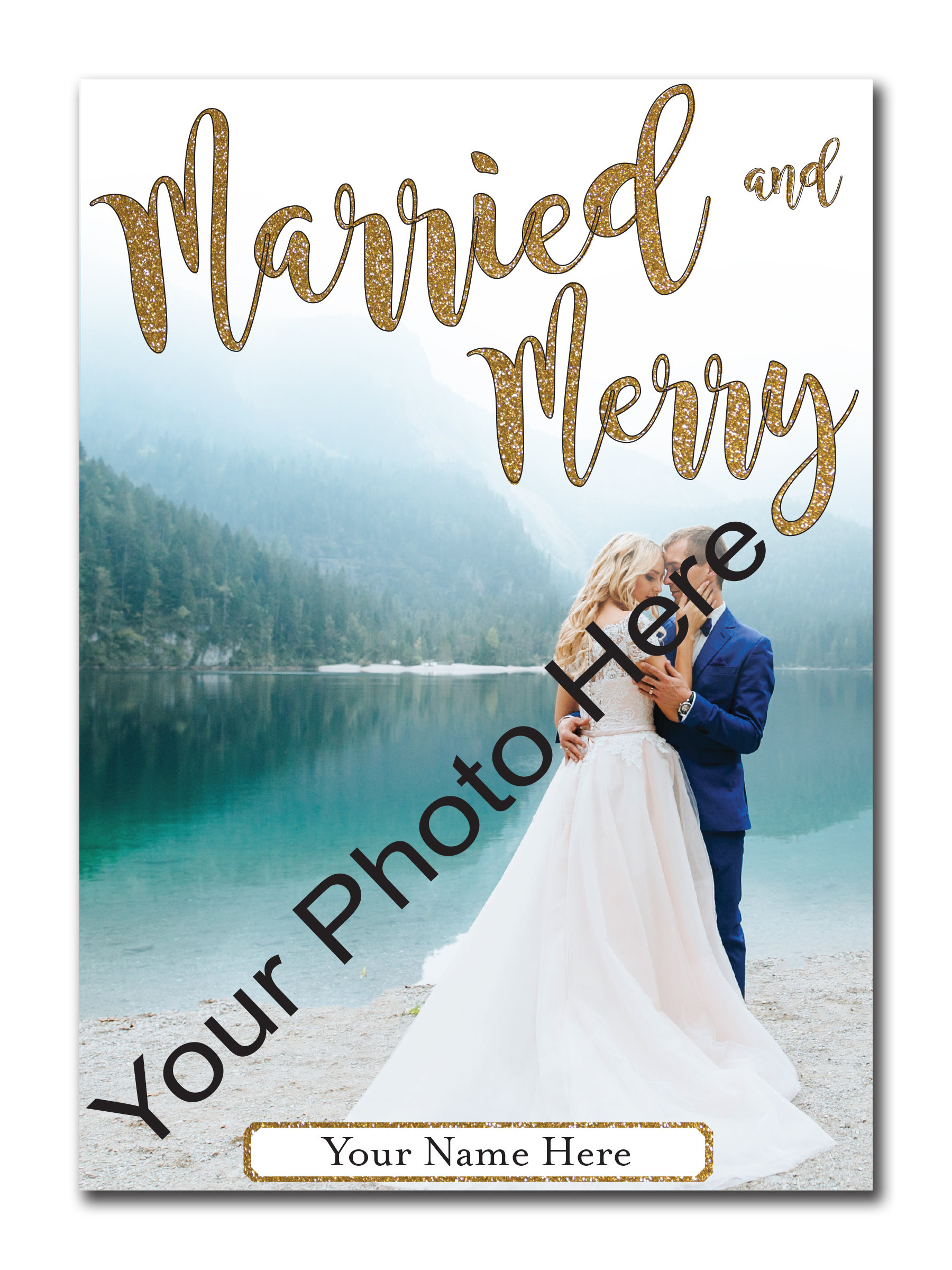 Married and Merry 5x7 00027